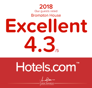 Hotels.com approval certificate